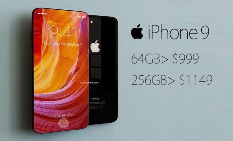 Điện thoại iPhone 9 ra mắt khi nào ? Giá thành bao nhiêu ?