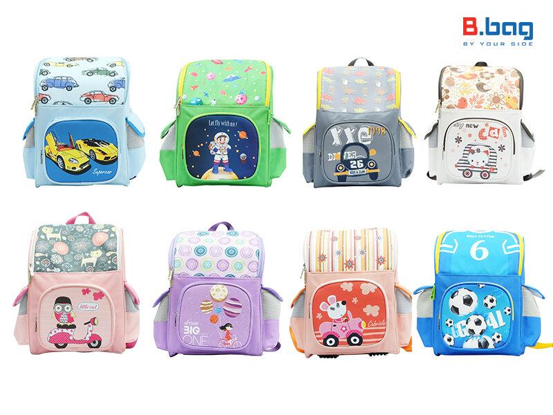 Ba lô chống gù B.Bag với nhiều mẫu thiết kế thông minh, tiện lợi và đẹp