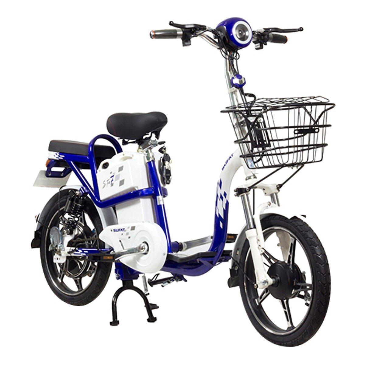 Xe đạp điện Sufat SF7 kiểu dáng đẹp, dễ di chuyển