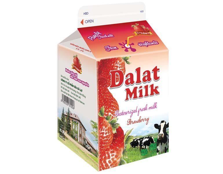 Sữa tươi thanh trùng Dalat Milk