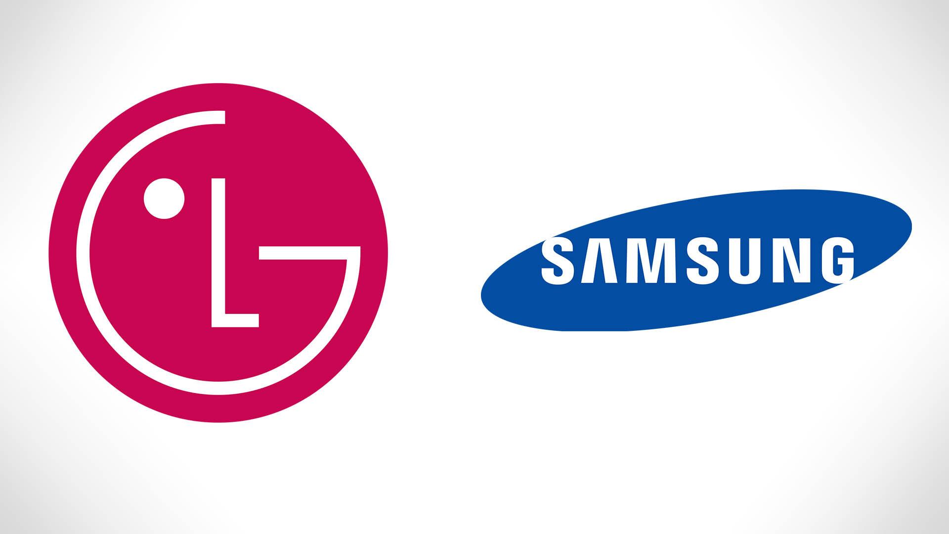 Samsung và LG là hai thương hiệu nổi tiếng đến từ Hàn Quốc