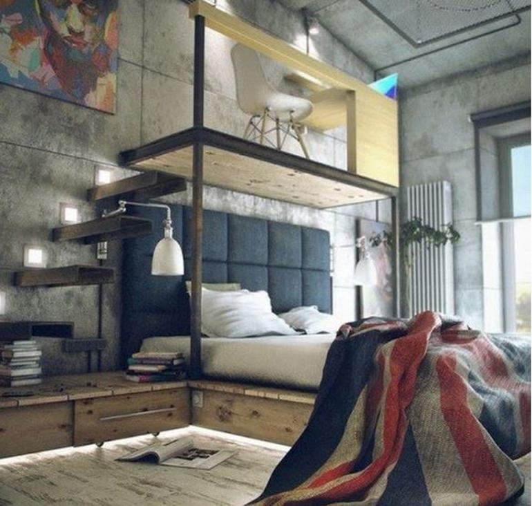ý tưởng thiết kế căn hộ diện tích nhỏ