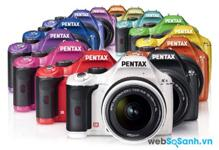 Bảng giá các dòng máy ảnh DSLR Pentax trên thị trường tháng 2/2016