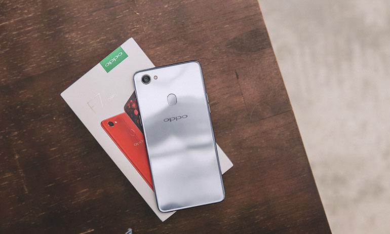 Điện thoại Oppo F7 đem đến ấn tượng ngay lần đầu sử dụng