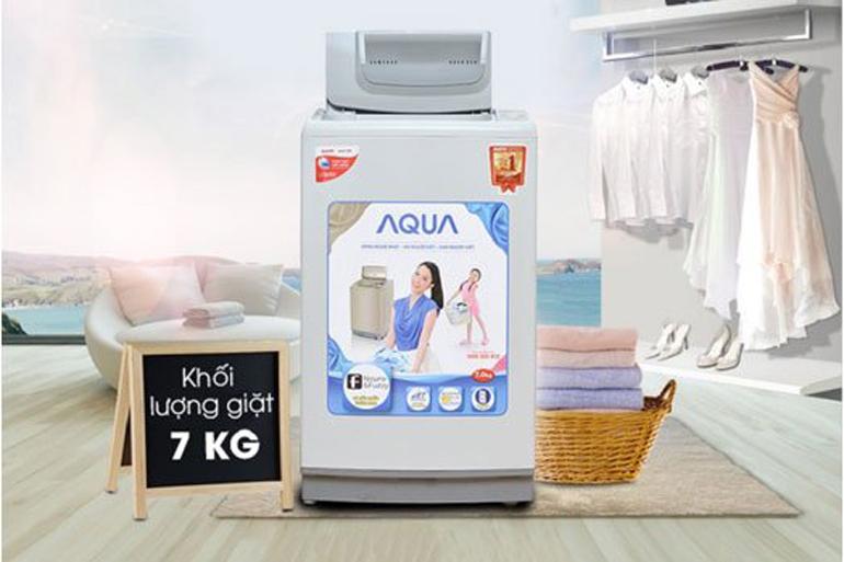 Máy giặt cửa trên Aqua AQW-K70AT (AQ-K70AT) - 7kg