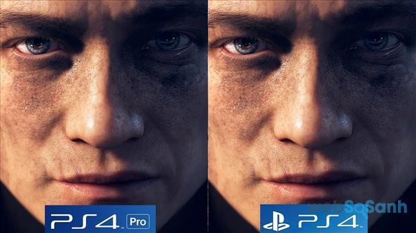 Chất lượng hình ảnh của PS4 Pro 'ảo' hơn PS4 Slim