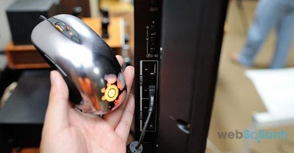 2 bước kết nối chuột, bàn phím đơn giản với Smart tivi của Samsung