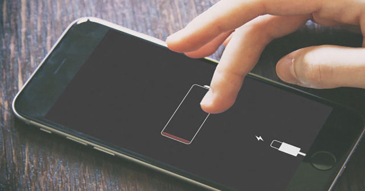 2 cách khắc phục sự cố chai pin trên một con điện thoại