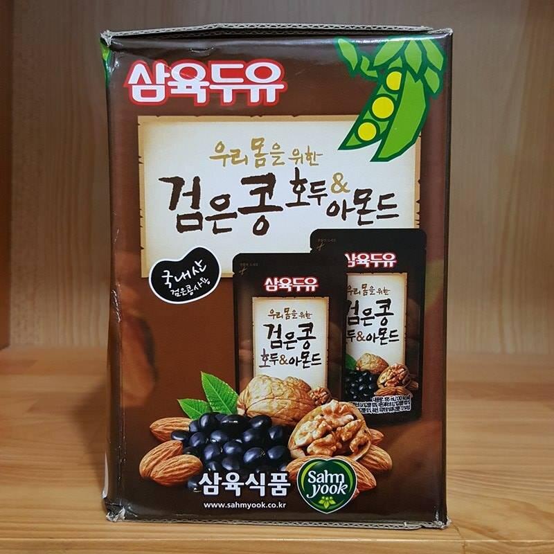 Sữa óc chó hạnh nhân Hàn Quốc