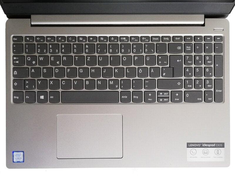 Bàn phím trên Lenovo Ideapad 330s-14IKBR 81F400NLVN cho trải nghiệm gõ phím nhanh, mượt, dễ dàng
