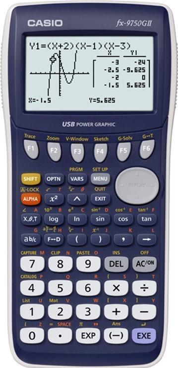 Máy tính khoa học Casio FX-9750GII (FX-9750-GII)