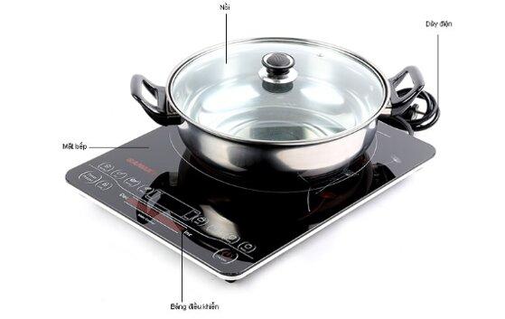 24 bếp từ đơn loại tốt bền nhất an toàn tiết kiệm điện giá từ 400k