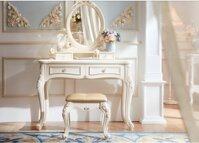 24 mẫu bàn trang điểm màu trắng bằng gỗ có đèn đẹp giá từ 2tr