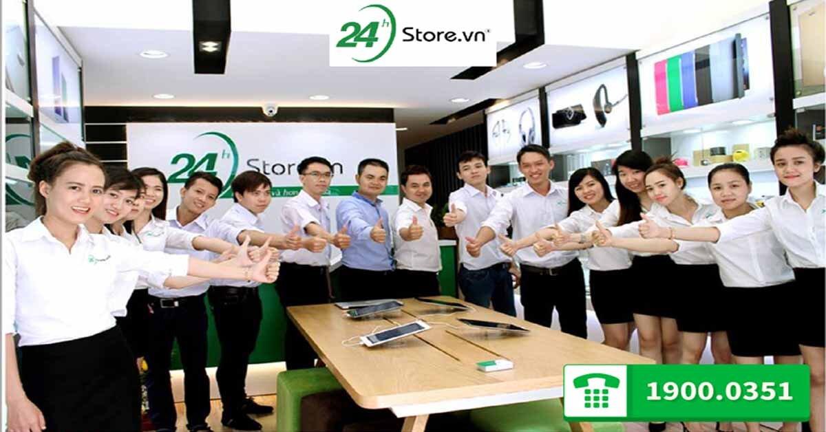 24hStore – Địa chỉ mua điện thoại lý tưởng của 97 triệu người Việt Nam