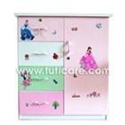 Tủ nhựa Đài Loan cho bé C13 - 4 tầng