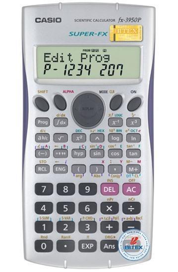 Máy tính khoa học Casio FX-3950P