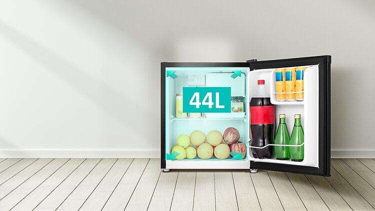 thiết kế tủ lạnh mini Casper RO-45PB 44 lít