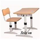 Bộ bàn ghế học sinh Xuân Hòa BHS-14-06