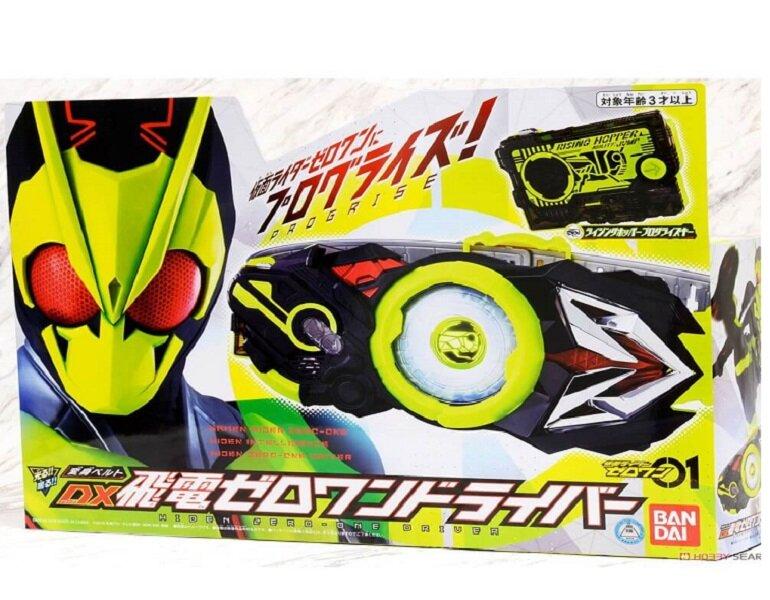 Tất tần tật về món đồ chơi mô hình Kamen Rider dành cho trẻ