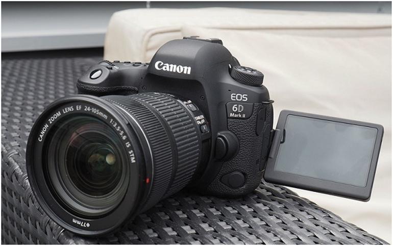 máy ảnh canon eos 6D Mark II