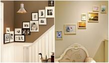 6 cách bài trí khung ảnh gia đình trên tường giúp căn nhà ấm áp và xinh đẹp