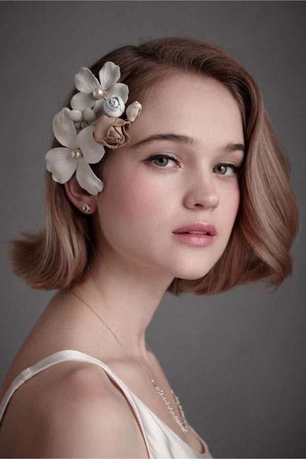 Ai bảo tóc ngắn không phù hợp với cô dâu?