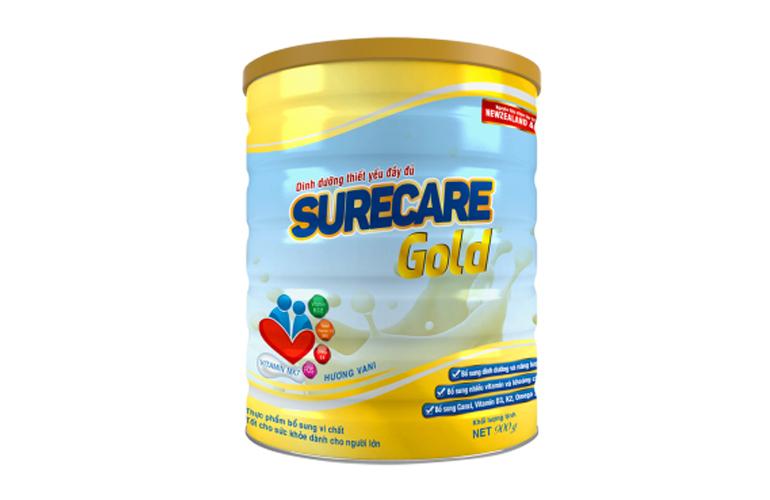 Surecare Gold cho người lớn tuổi, người có nguy cơ bị suy dinh dưỡng