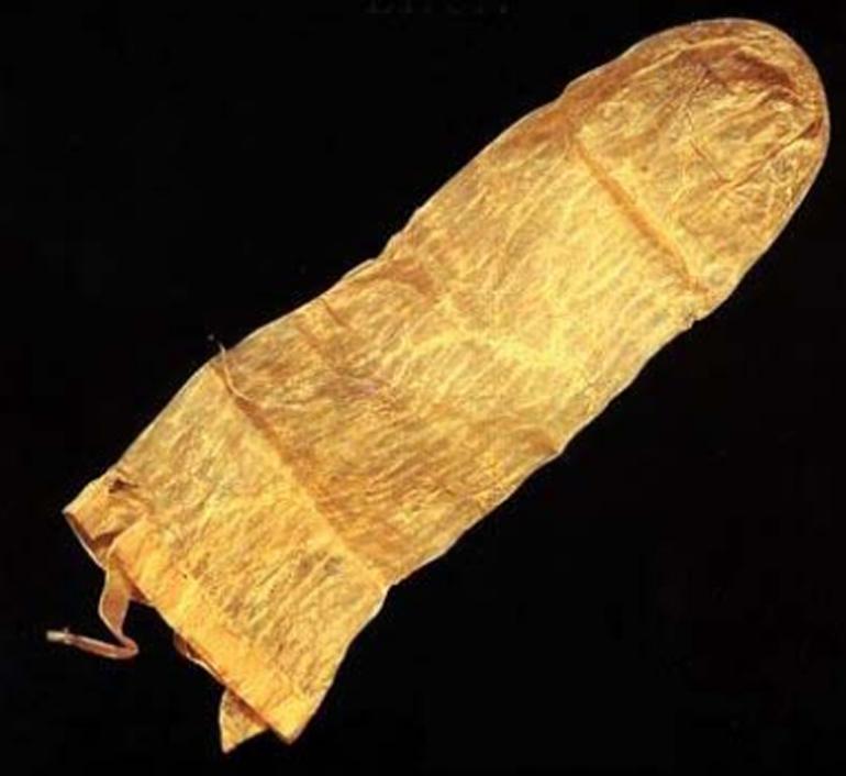 Bao cao su được làm từ ruột hoặc da động vật