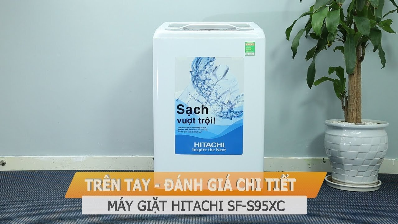 Máy giặt Hitachi SF-S95XC