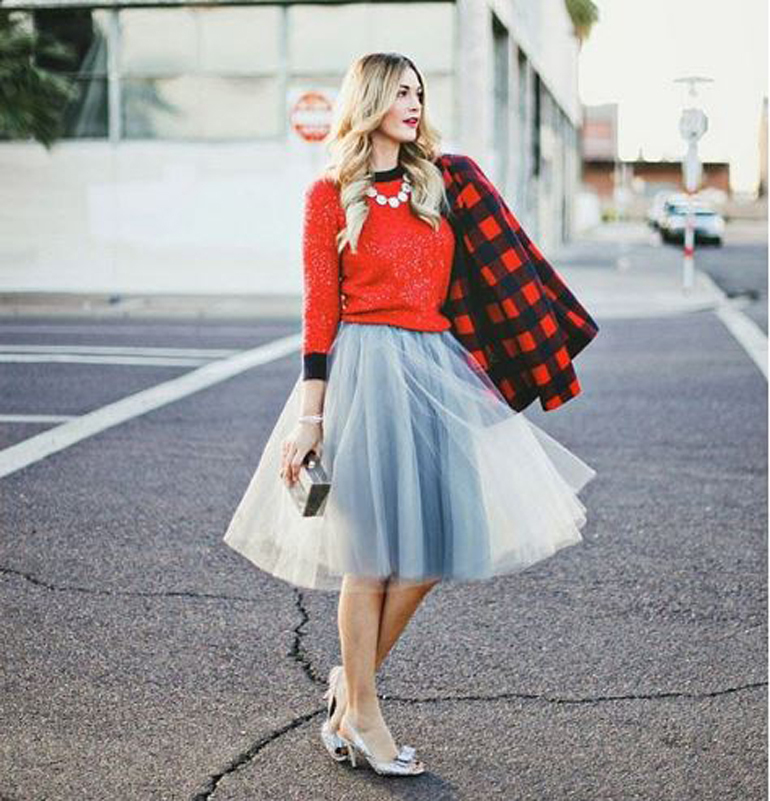 Muôn kiểu mix đồ với chân váy Tulle Skirt