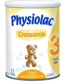 So sánh giá sữa bột Physiolac cập nhật tháng 7/2015