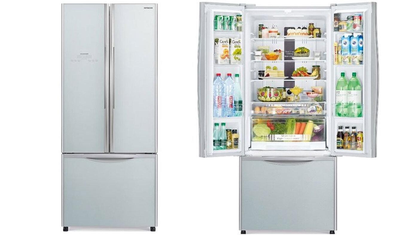 Tủ lạnh Hitachi thiết kế ngăn chứa thông minh, tiện ích