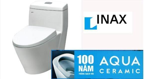 bồn cầu inax với công nghệ Aqua ceramic