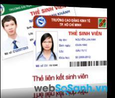 Nhiều trường đại học liên kết với Agribank để kết hợp thẻ sinh viên và thẻ ATM làm 1