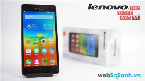 Điện thoại thông minh Lenovo A6000 mang trên mình bộ vi xử lý lõi tứ Snapdragon 410