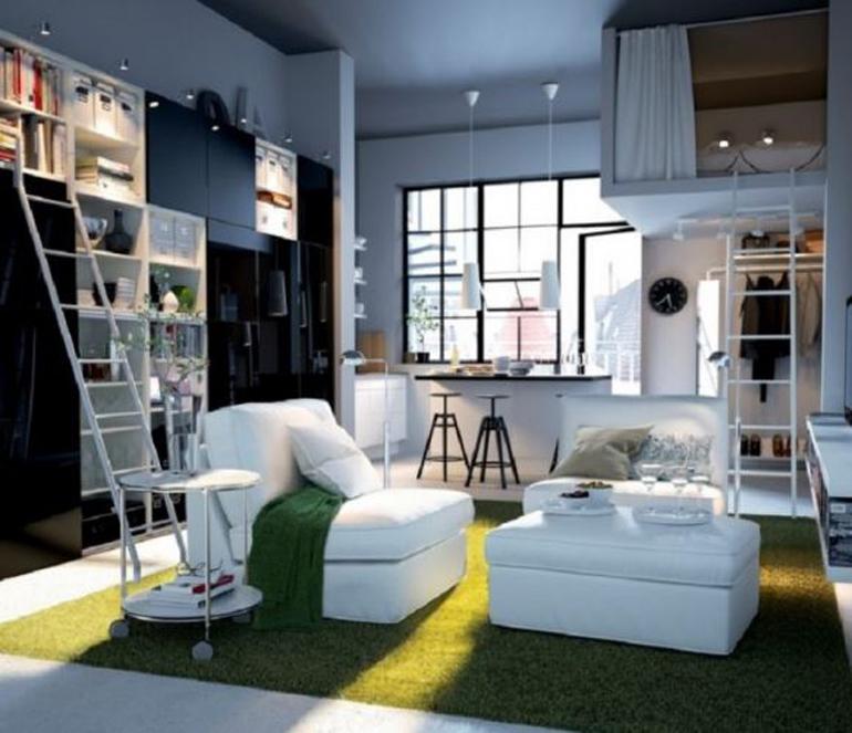 Loft Bed (giường tầng/gác xép) là lựa chọn hoàn hảo