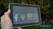 So sánh máy tính bảng Samsung Galaxy Tab 2 7.0 và Amazon Fire HD 7