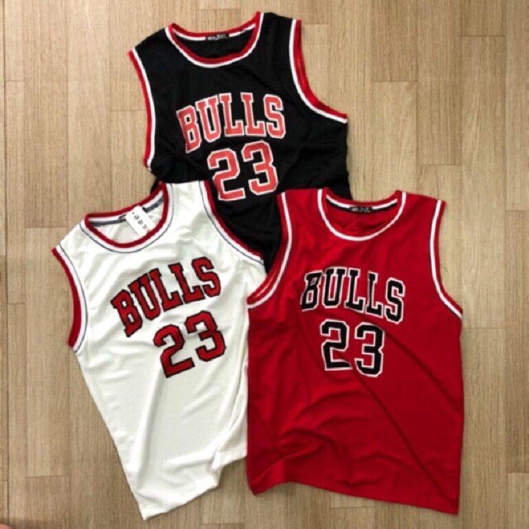 Áo bóng rổ nam Bull