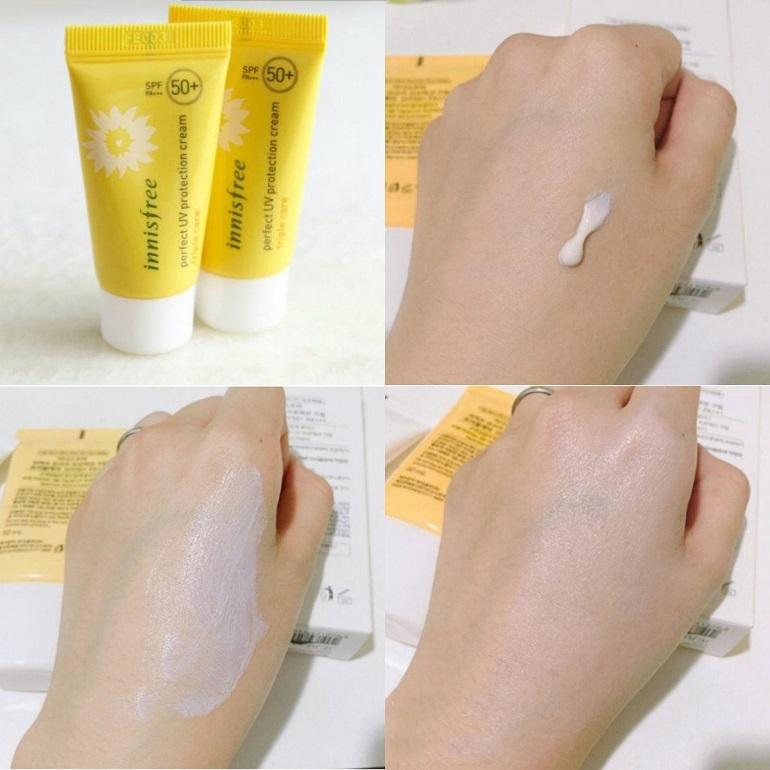 Công dụng của kem chống nắng Innisfree Triple Care
