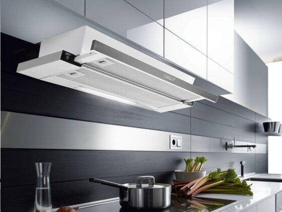 3 cách chọn kích thước máy hút mùi âm tủ, kính cong hợp bếp nhất