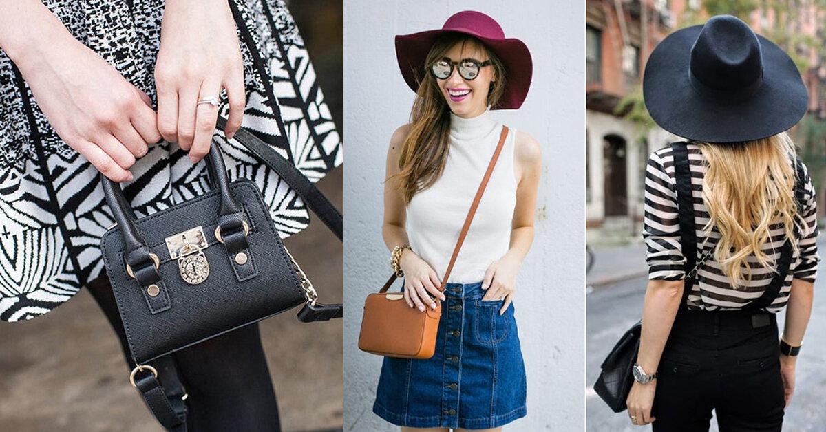 3 cách chọn túi xách đeo chéo đẹp nổi bần bật và tự tin cho nàng dưới 1m55