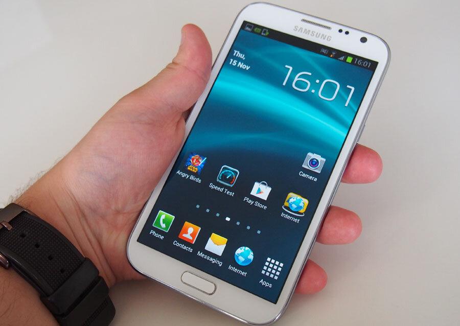 3 cách chụp màn hình trên Galaxy Note II
