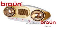 3 Cách phân biệt đèn sưởi Braun 2 bóng chính hãng với hàng nhái