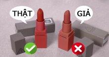 3 cách phân biệt son môi chính hãng và son môi giả