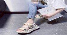 3 cách phối đồ với giày sandal nữ đế cao phổ biến