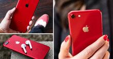 3 điện thoại màu đỏ đáng sắm tặng nàng ngày 8/3 sắp tới