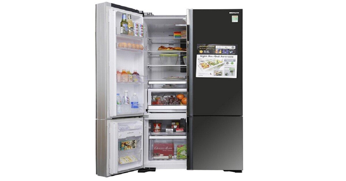 3 dòng tủ lạnh side by side Hitachi tốt nhất để mua Tết 2019