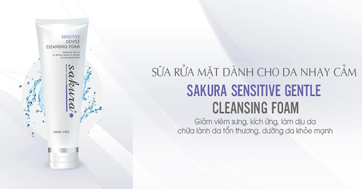 3 loại sữa rửa mặt an toàn và tốt nhất cho da nhạy cảm