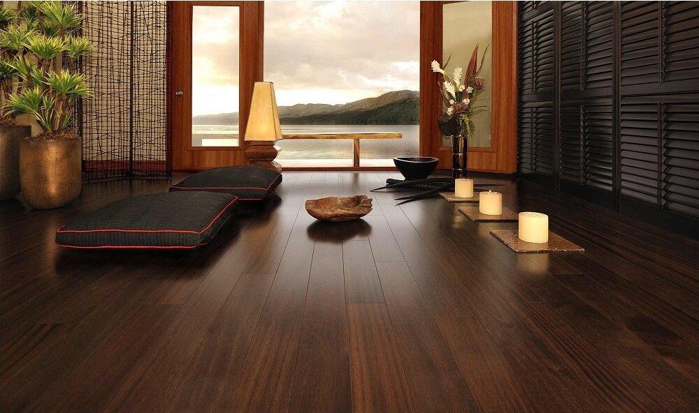 3 lưu ý khi chọn sàn gỗ cho phòng khách