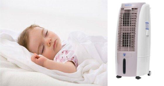 3 lưu ý khi dùng quạt điều hòa hơi nước cho trẻ nhỏ
